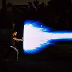 First night with #pixelstick #kamehameha by Eric Kunz on 500px