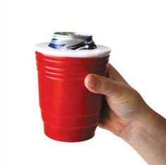 Solo cup Koozie - when your douchebaggery knows no bounds