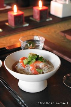 Japanese Somen Cold Noodles そうめん