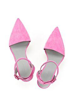 Pink / suede / Alexander wang
