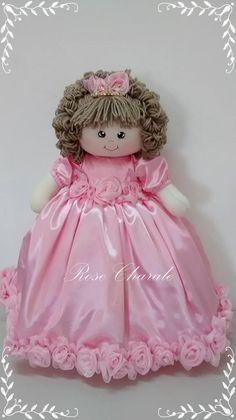 Princesa | Rose Charale Bonecas de Pano | Elo7