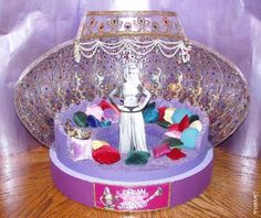 I Dream Of Jeannie (TV) (1965) models   miniatures Scale Model Jeannie Bottle Interior