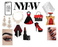 """""""NYFW Day"""" by fallen-wolf ❤ liked on Polyvore featuring Kate Spade, Casetify, Bond No. 9 and Lafayette 148 New York"""