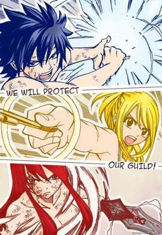 Fairy Tail- this would be the whole anime if natsu was in this… Manga Anime, Got Anime, I Love Anime, Anime Meme, Awesome Anime, Anime Art, Fairy Tail Fotos, Anime Fairy Tail, Jellal