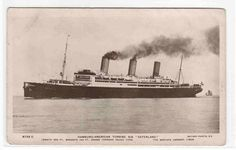Steamer SS Vaterland Hamburg Amerika American Ship RPPC r... - bidStart (item 33366543 in Postcards... Boats)