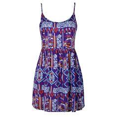 AZTEC PRINT RAYON DRESS Aztec, Leggings, Summer Dresses, Shorts, My Style, Jackets, Pants, Fashion, Down Jackets
