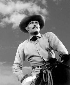 John Wayne, 1 John, Western Horseman, John Russell, Tv Westerns, Hollywood Men, Old Movie Stars, Thing 1, Warner Brothers