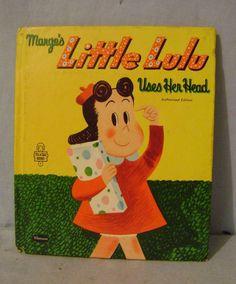 Vintage Little Lulu Tell-a-Tale Book - Whitman 1955