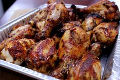 In this recipe, I use a very basic Alabama white sauce recipe on smoked chicken drumsticks. Simple and delicious.. just the way I like it.
