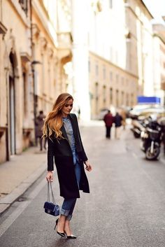 kristina bazan winter street style