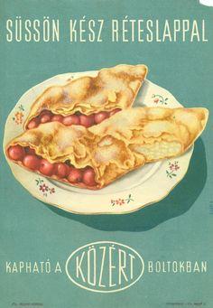 KÖZÉRT reklámlap (Magyar Kereskedelmi és Vendéglátóipari Múzeum CC BY-NC-SA) Evo, Mexican, Ethnic Recipes, Mexicans