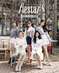 "FIESTAR Reveals Teaser Photos for Upcoming Mini-Album ""A Delicate Sense"" | Koogle TV"