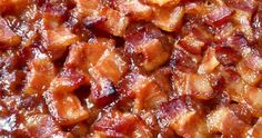 Classic Southern style baked beans topped with bacon. Southern Style Baked Beans Recipe, Southern Recipes, Southern Food, Southern Comfort, Paula Deen Baked Beans Recipe, Southern Quotes, Southern Women, Simply Southern, Southern Belle