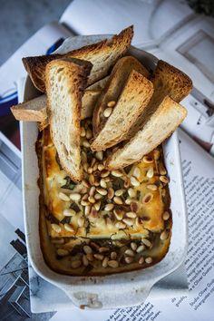 Krämmmmig drömmmmig ost i ugn