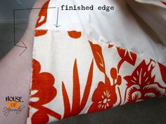 make your own lined curtains, with a tutorial that actually makes sense!