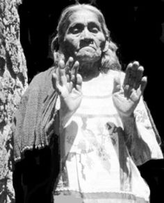 María Sabina,who lived her entire life in a modest dwelling in the Sierra Mazateca of southern Mexico. Her practice was based on the use of the various species of mushrooms. She was the first contemporary Mexican curandera, defined as a native shaman, to allow Westerners to participate in the healing vigil that became known as the velada.Where all participants partake of the psilocybin mushroom as a sacrament to purification and as a communion with the sacred.