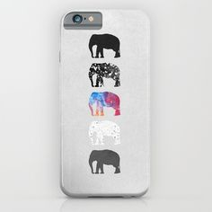Awesome adorable abstract textured elephants case, perfect for you iphone or samsung device. Available at Society6. #elephant #iphone6 #samsung #case #texture #pattern #society6 #idealgifthunt