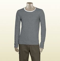 gucci trademark long sleeve t-shirt