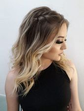 54 Easy Formal Hairstyles for Long Hair hairstyles for long hair . - 54 Simple, formal hairstyles for long hair for long hair . Formal Hairstyles For Long Hair, Wedding Hairstyles For Long Hair, Easy Hairstyles, Simple Hairstyles For Medium Hair, Hairstyles 2018, Long Formal Hair, Hairstyles For Weddings, Blonde Hairstyles, Braid Hairstyles