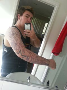 New ink. Start of my sleeve