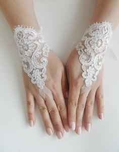 Free shipping Wedding Gloves gloves Fingerless by WEDDINGHome, $25.00