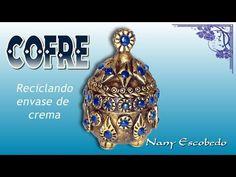 COFRE RECICLANDO ENVASE DE CREMA - YouTube