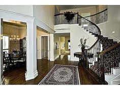 Prestigious Preston Highland Community offers one of their finest custom built homes on an oversized corner lot! This sophisticated two story home built in 1998 greets you with a stunning two story entry with a grand curved stairway and elevator. A rich wood floor and carved wood columns lead to the formal living and dining rooms. #zillow