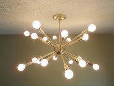 Atomic 20 Arm Sputnik Starburst Ceiling Light by StarlightLighting