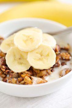 banana chai granola