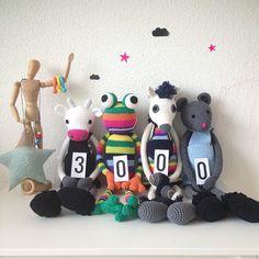 crochet toys by leggybuddy