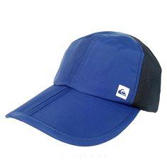 Quiksilver Snapback Mens Foldable Bill Adjustable Hat Blue/Black    eBay