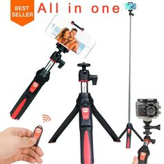 Check Discount Ulanzi BENRO Selfie Stick Tripod Stand 4 in 1 Extendable Monopod Bluetooth Remote Phone Mount for iPhone X 8 Android Gopro Iphone Android, Samsung Grand, Phone Tripod, Camera Tripod, Gopro Accessories, Photo Accessories, Bluetooth Remote, Gopro Photography, Shopping