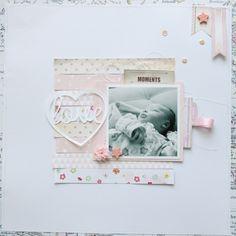 Love...a layout by Stephanie Bryan