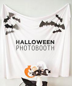 Easy DIY Kids Halloween Photo Booth Props