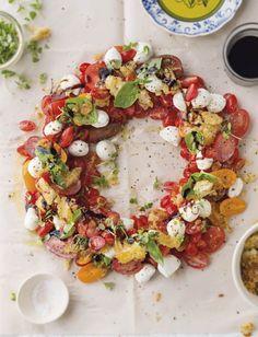 Looks so delicious—fresh tomatoes • mozzarella • basil • etc❣ SARIE