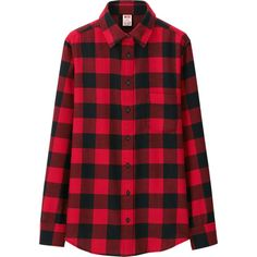 WOMEN Disney Project FLANNEL LONG SLEEVE SHIRT | UNIQLO