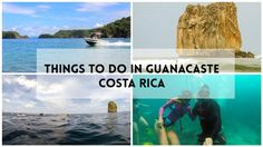 A list of awesome things to do in Guanacaste, the golden coast of Costa Rica with beautiful beaches, tons of adventure and exciting wildlife watching