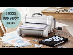#129 The NEW Do's & Don'ts of the Sizzix Big Shot and Big Shot Plus by Scrapbooking Made Simple - YouTube Scrapbooking 101, My Scrapbook, Sizzix Big Shot Pro, Embossing Techniques, Shots Ideas, Wedding Favor Boxes, Photo Craft, Craft Tutorials, Cardmaking