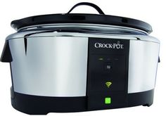 WeMo-enabled slow cooker -- means you can control it with your smartphone. Hello, 2014.