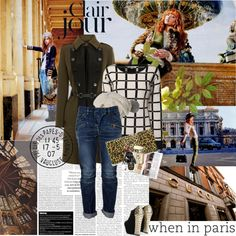 """""""When in Paris.."""" by rainie-minnie ❤ liked on Polyvore"""