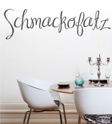Schmackofatz Als Wandtattoo