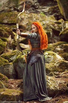I picture brave Queen Boudicca, like this, with her flaming red hair. Sadly, Paulinus defeated this bold leader. It is said she killed herself to keep him from taking her as a prisoner.