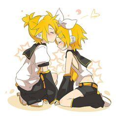Kagamine Len & Rin by シオン