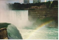 Niagara Falls.  Amazing.  See it by day, by night, go behind the falls, sail Maid of the Mist...