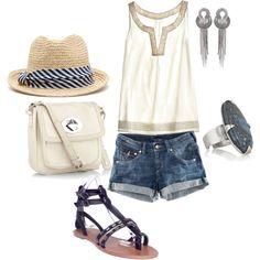 Love this look but would probably wear a wedge heel! Kinda over the gladiator sandal craze!