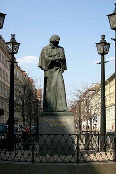 """""""ПАМЯТНИК Н.В.ГОГОЛЮ"""", Санкт- Петербург ,1997 (""""Monumento a Nikolai Gogol,"""" San Pietroburgo 1997)"""