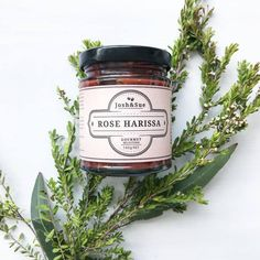 Josh&Sue Rose Harissa 3 Pack, Hand Crafted in a Daylesford, A key ingredient in North African and Middle Eastern cooking. Rose Harissa, Preserved Lemons, Australian Food, Daylesford, Marinated Chicken, Key Ingredient, Rose Petals, Victoria, Stuffed Peppers