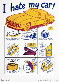 I hate my car by Ryan Duggan