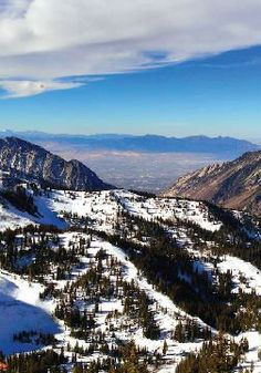 Go Skiing in the Mountains of Utah