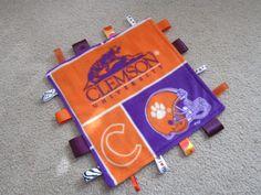 Clemson Tigers ribbon blanket